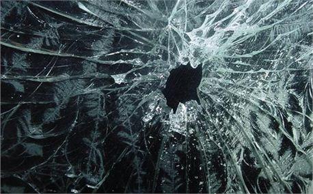 Crushed glass
